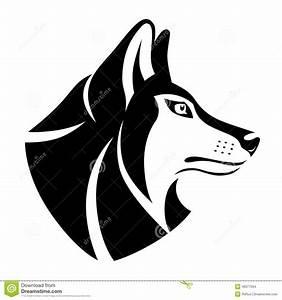 Symbole Du Loup : symbole principal de loup illustration de vecteur image ~ Melissatoandfro.com Idées de Décoration