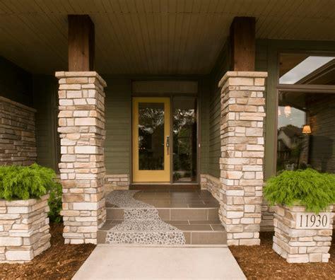 front porches  rustic  pristine melton design build