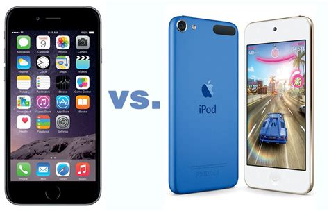 ipod vs iphone compare hardware software prices iphone ipod touch 1681