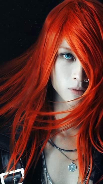 Redhead Iphone Sin Portrait Wallpapers Iphoneswallpapers