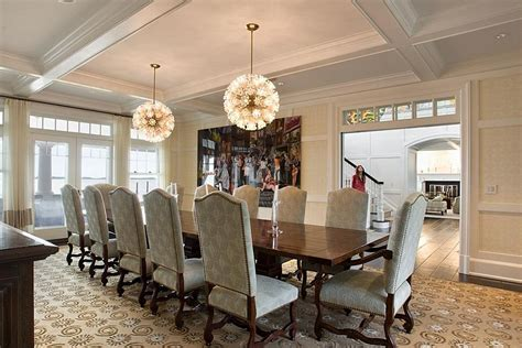 big formal dining room home design examples