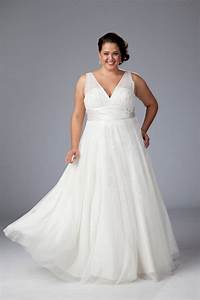 V neck plus size wedding dress plus size wedding gown for Wedding dress sizing