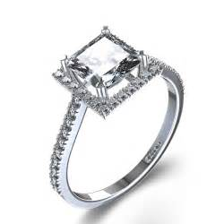 solitaire cut engagement rings stylish halo princess cut engagement ring in 14k white gold canada