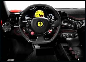 Ferrari 458 Spider Interior Cockpit Wallpaper | Ferrari ...