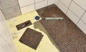 Bodengleiche Dusche Fliesen Anleitung : badrenovierung ~ Michelbontemps.com Haus und Dekorationen
