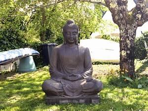 Statue Deco Jardin Exterieur : statue bouddha deco jardin khenghua ~ Teatrodelosmanantiales.com Idées de Décoration