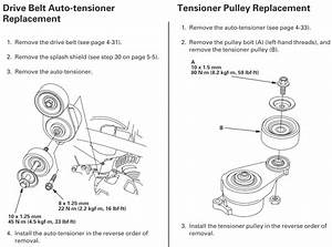 Remove A Tensioner For A 2007 Honda Ridgeline