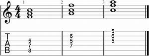 Triads And Inversions With Roman Numeral And Figured Bass