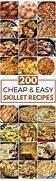 Easy Supper Ideas Cheap by 25 Best Ideas About Easy Cheap Dinner Recipes On Pinterest Easy Meals Ski
