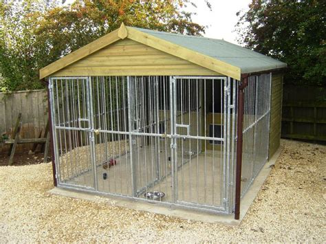 outdoor kennel outside kennel single run kennels welded