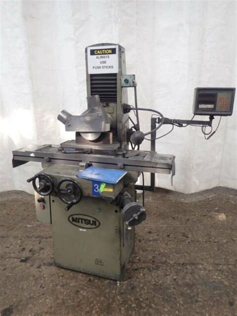 mitsui mh    hand feed surface grinder toolroom