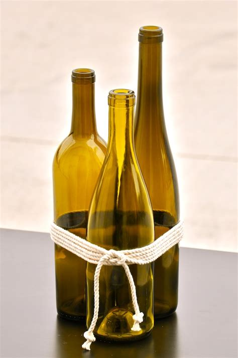 Wine Vase by Recycled Wine Bottles Flower Meanings Vase Cleaning Tools