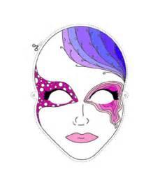 Print and Color Halloween Masks