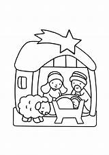 Crib Coloring Simple Children Justcolor sketch template
