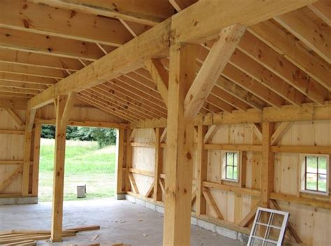 construction d une maison en bois poteaux poutres avec vid 233 o