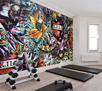 Graffiti Abstract Murals