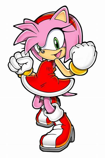 Amy Sonic Rose Channel Hedgehog Retro Pose