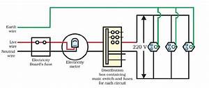 Draw A Schematic Labelled Diagram Of A Domestic Wiring