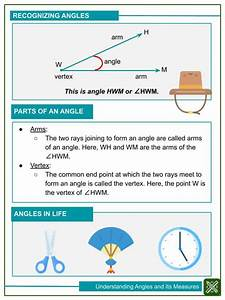 Understanding Angles And Its Measures 4th Grade Math