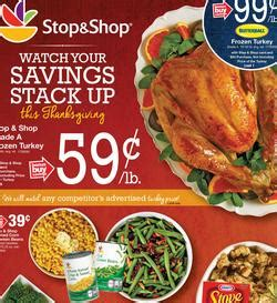 The braintree location will be closed. Stop and Shop Circular 11/14 - 11/20/2014. Grade A Frozen Turkey Sale!