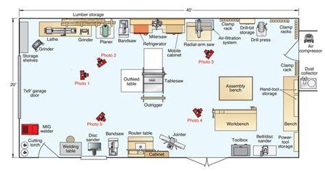 workshop layout workshop layout woodworking workshop