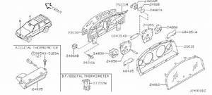 Nissan Pathfinder Speedometer Gauge  View  Front  Rear