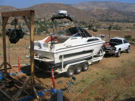How To Build A Boat Engine Hoist by Build An Engine Hoist Change Your Bellows At The Suggested