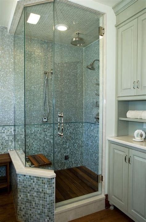 Spa Bathroom Showers by Rhinestones Or Of Pearl Glass Tiles Come In All