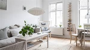 Ensemble Salon Scandinave : une d co scandinave lumineuse shake my blog ~ Teatrodelosmanantiales.com Idées de Décoration