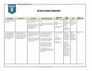 diversity action plan 2014 With diversity action plan template