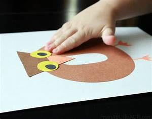 preschool alphabet book lowercase letter o from abcs to With construction paper letters
