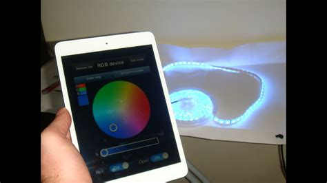 Led Lights For Room Controlled By Phone by Led Wifi Controller Rgb How To Controll