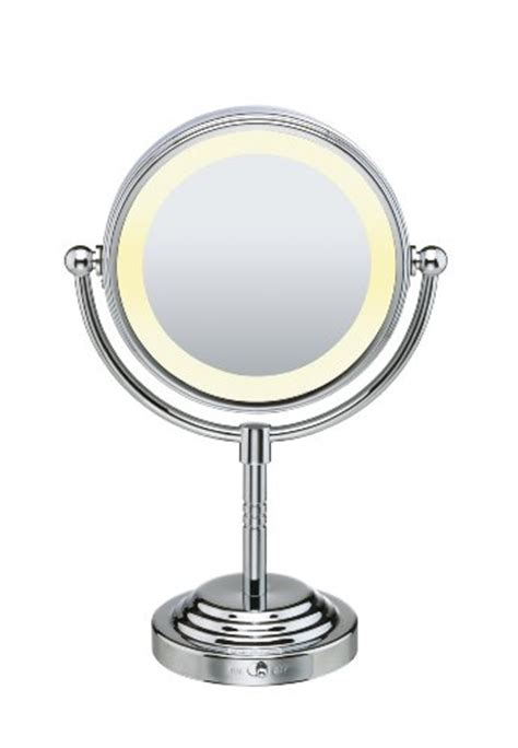 conair 5x magnified lighted makeup mirror conair be4rlz classique double sided lighted makeup mirror