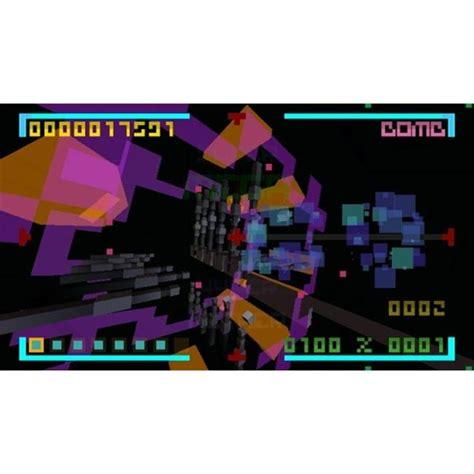 bit trip core wiiware games graphics