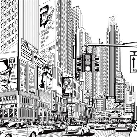 chambre garcon york poster noir et fond blanc york dessin de bd