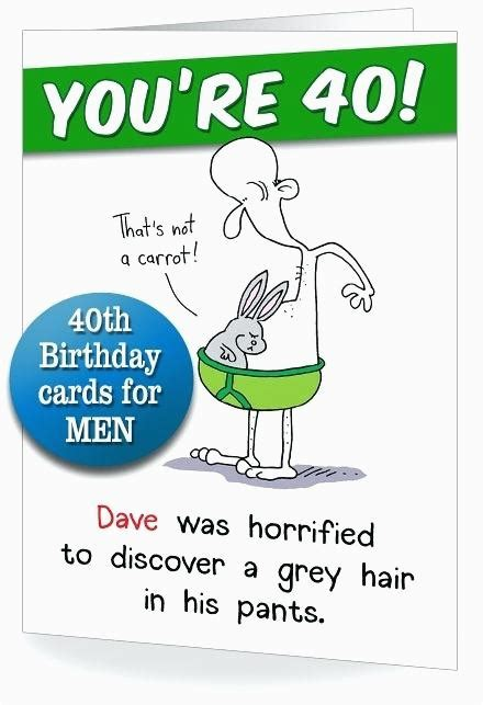 But it's about a hundred times more fun when it happens on your 40th. Funny 40th Birthday Card Messages | BirthdayBuzz