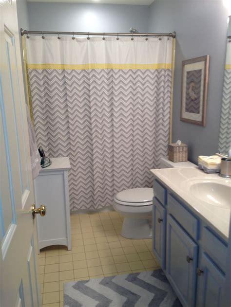 ideas  yellow  grey bathroom redo images