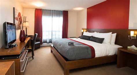 d馗or de chambre chambres d 39 hôtel tendance à gatineau hôtel 4 étoiles