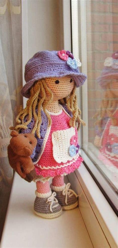 amigurumi doll free pattern amigurumi doll s puppe h 228 keln h 228 kelpuppen und h 228 keln