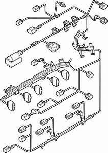 2013 Volkswagen Beetle Convertible Engine Harness  Engine