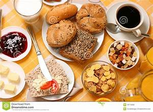 Continental Breakfast Stock Photography - Image: 18172832