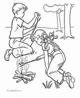 Coloring Camping Printable Colorear Raisingourkids Playa Dibujos Namiot Biwak Fun Sheets Campamento Imprimir Pintar Kolorowanki Dzieci Kamping Dla Theme Dibujar sketch template