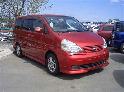 Nissan Serena Photo by Used 2004 Nissan Serena Photos 2000cc Gasoline Ff