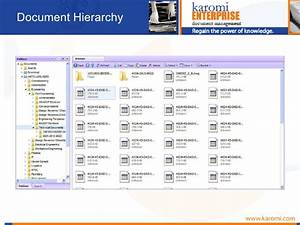 Karomi project document control for Project documents control