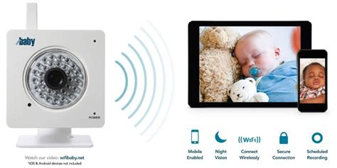 wifi baby 3 wireless smartphone baby monitor review