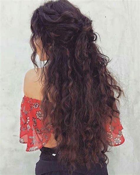 11 cute long curly hairstyles for beautiful women cute