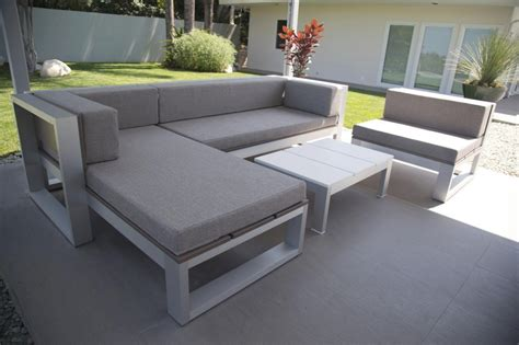 inspirations  modern curved outdoor sofa sets