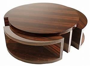Couchtisch Holz Rund Oval : couchtisch rund holz icnib ~ Frokenaadalensverden.com Haus und Dekorationen