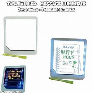 Tableau Lumineux Message : tableau led achat vente tableau message lumineux pas cher ~ Teatrodelosmanantiales.com Idées de Décoration