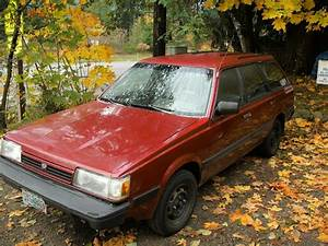 In The End Blogs  Subaru Loyale 1991